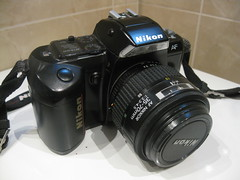 Nikon F-401 by Mr.FoxTalbot
