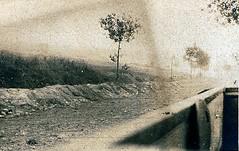2éme bataille de la Marne - Aprés Saint Gengoulph Route Chezy Oxois - (photo VestPocket Kodak Marius Vasse 1891-1987)