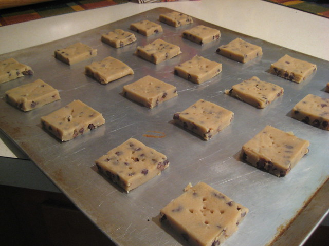 espresso chocolate chip shortbread | await the oven | By: jennypdx ...