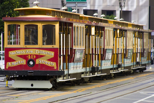 San Francisco Cable Car Train