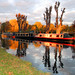 Barges on the Lea Valley