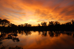 20091029 Sunset on the Sacramento River