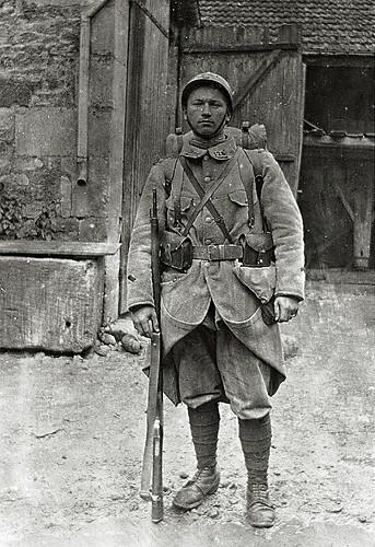 Auguste Lestret - Mai 1916 retour secteur  du 2 B (classe 1916) - 128 éme régiment d'infanterie Français