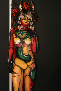 Bodypaint girl