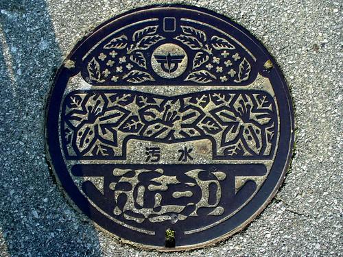 Ōmi, Shiga manhole cover(滋賀県近江町のマンホール)