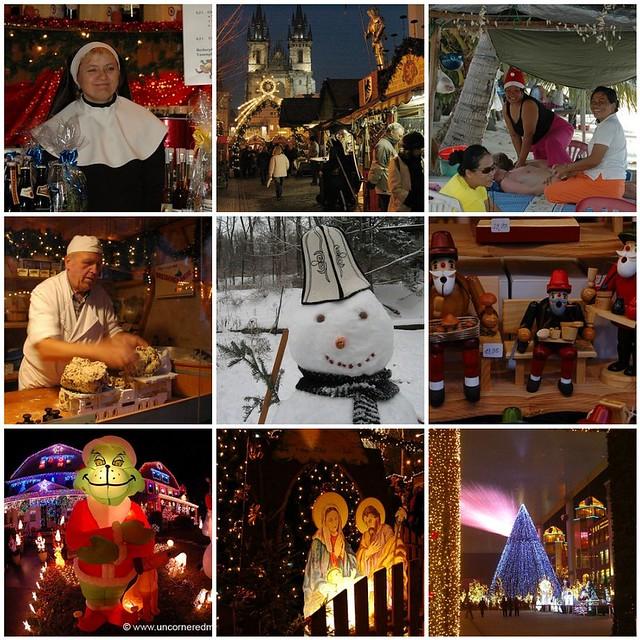 Christmas Around the World Mosaic