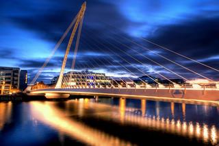 Sunset Over Dublin