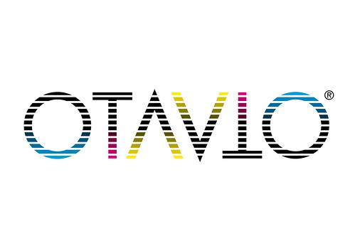 Logo - Ambigrama OTAVIO