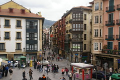 Streets of Casco Viejo, Bilbao's old town