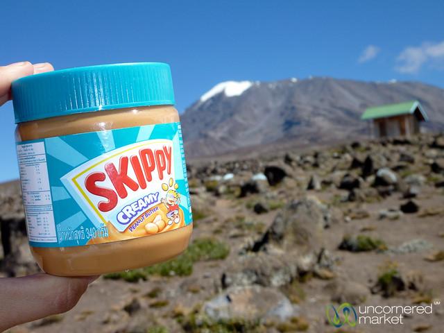 Peanut Butter, Snack of Champions - Mt. Kilimanjaro, Tanzania