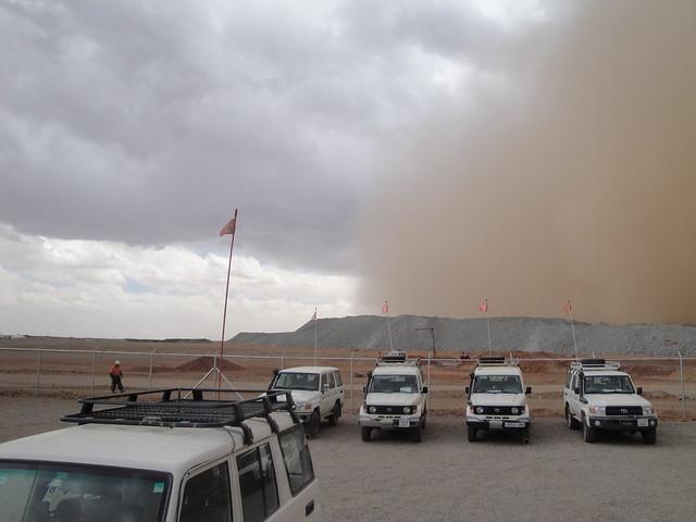 Sand Storm in the Gobi 2