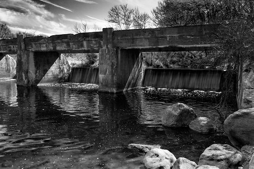 bridge bw canal blackwhite newjersey dam nj stanhope morriscounty morriscanal sussexcounty musconetcong fineartphotos