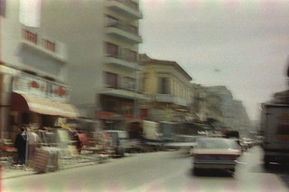83. //122/1k.1333/3f - THE STREETS OF ATHENS, GREECE 1987