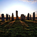 Callanish standing stones at dawn, Isle of Lewis, Scotland