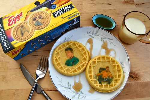 star trek waffles