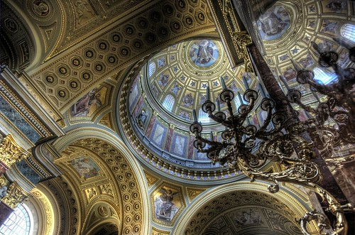 St Stephens Cathedral - Budapest
