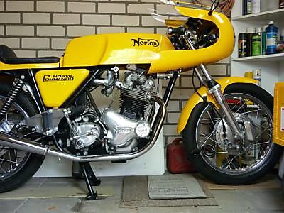 Norton hemmings norville 850 comander  1973