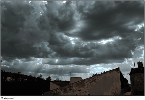 Esperando la tormenta