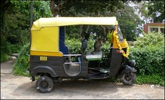 rickshaw, vehicle, light commercial vehicle,