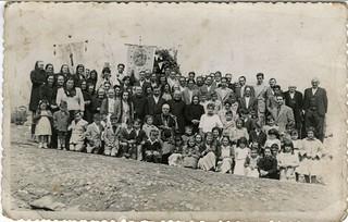 Astigarretako bizilagunak 1953. urtean.