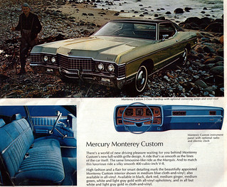 1972 Mercury Monterey Custom 2 door hardtop