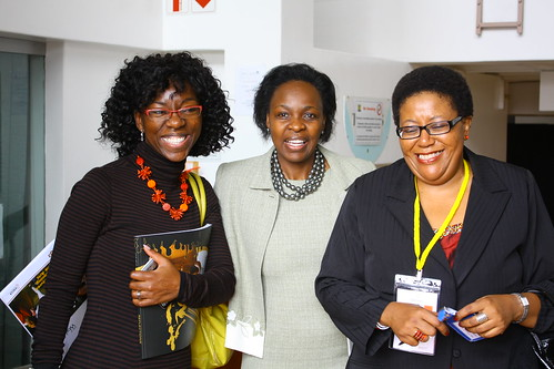 Annabell Lebethe, Adv Brenda Madumise and Sibongile Khumalo at the 4th World Summit on Arts & Culture