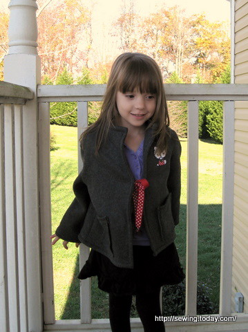 fleece jacket free pattern - Welcome to News and Discussions for