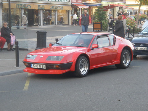 renault alpine a310 rouge a photo on flickriver. Black Bedroom Furniture Sets. Home Design Ideas