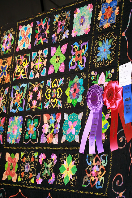 Prize Winner Applique Quilt Flickr Photo Sharing
