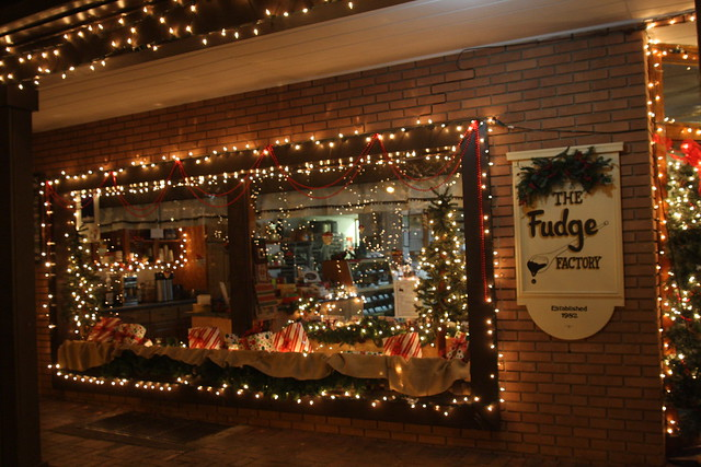 The fudge factory window flickr photo sharing for Dahlonega ga christmas 2017 schedule