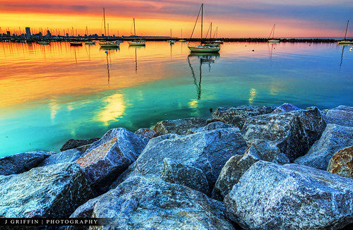sunset wisconsin marina nikon lakemichigan tokina milwaukee 1224mm hdr d7000 topazadjust stunningphotogpin