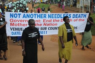 Protest leaders KC Sharifah Nabukenya