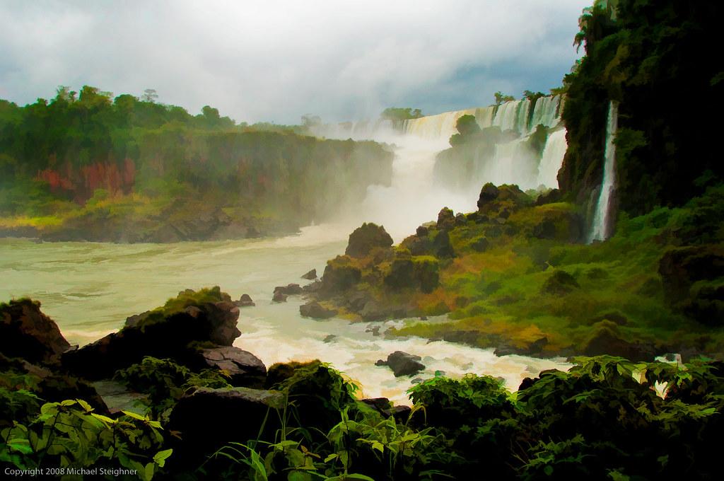A walk along Iguazu Falls - Brazil by MDSimages.com