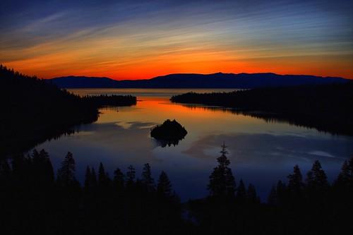 california morning sunset lake sunrise canon dawn evening bay dusk nevada tahoe vista emerald hdr tahoma abcd 40d hbppix mygearandmepremium mygearandmebronze mygearandmesilver mygearandmegold celebritiesofphotographyforrecreation