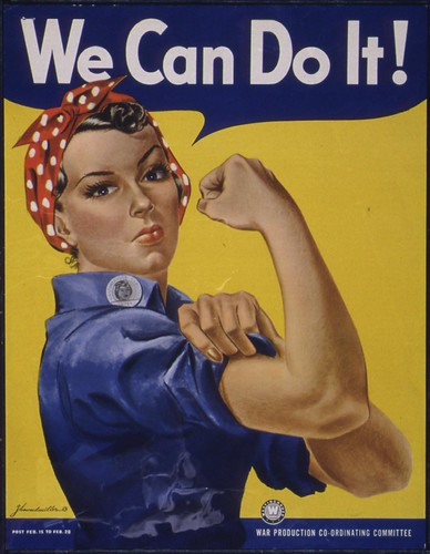 We Can Do It! by The U.S. National Archives