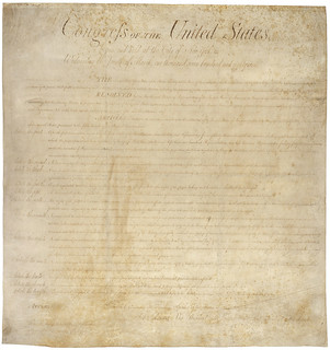 Bill of Rights from the National Archives