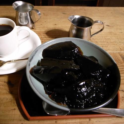 神田伯剌西爾のコーヒーゼリー