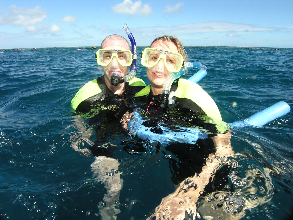 Snorkelling at Great Barrier Reef