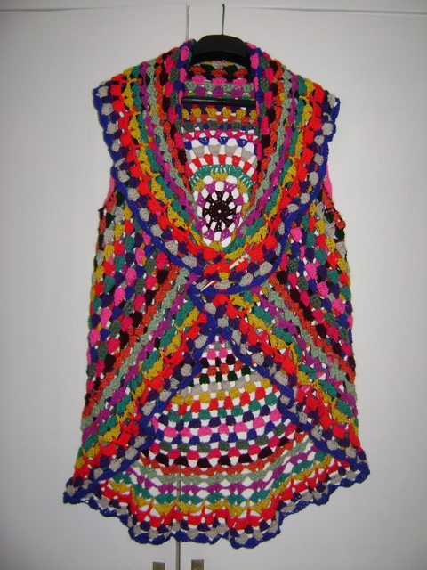 Free Crochet Pattern For Hippie Vest Dancox For