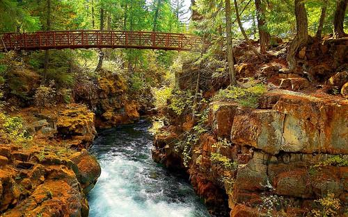 Nature - Rogue River, Klamath Mountains, Oregon