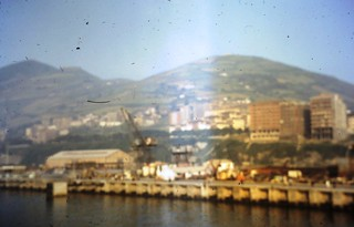 Bibao from ferry in c 1966