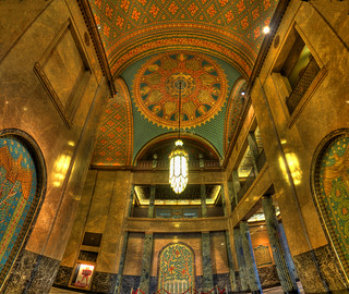 Fisher Building - North/South Lobby  - Detroit