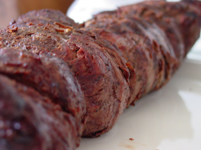 how to cook a small beef tenderloin