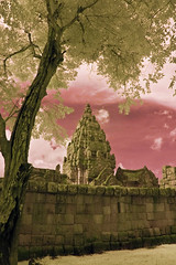 Phanom Rung, Another View With Pink Sky