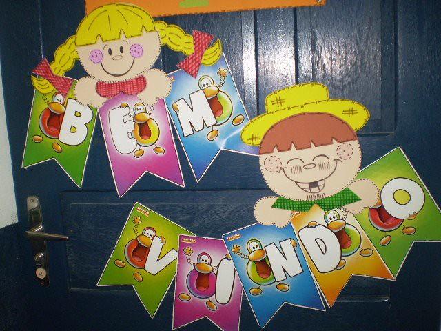 decoracao de sala festa junina educacao infantil : decoracao de sala festa junina educacao infantil:SilyL@ndia: Sugestões de decoração para Festa Junina