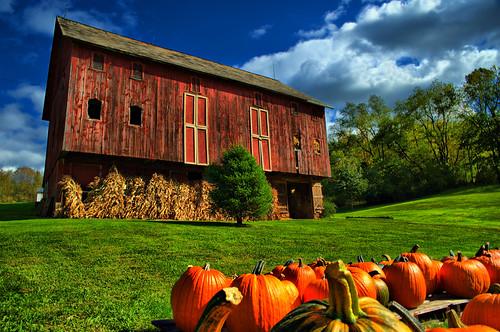 ohio fall barn rural pumpkin geotagged nikon raw nef farm country potd hdr ruralamerica ruralohio d700 dynamicphotohdr sigma2470mmf28ifexdghsm
