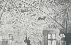 Hvelvmaleri fra 1600-tallet i Erkebispegården