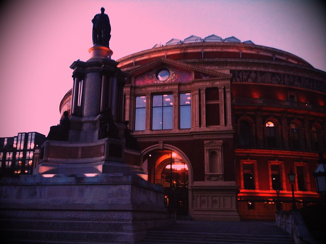 Royal Albert Hall in London - Image by Flickr user Bernt Sønvisen