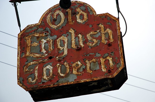 Old English Taverns http://www.flickr.com/photos/26331781@N04/4128581677/