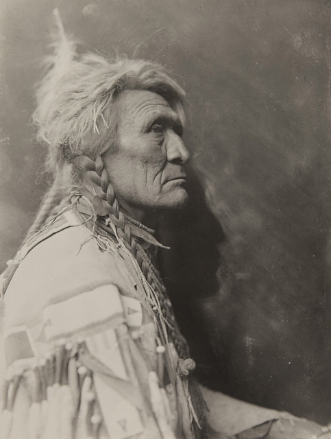 Native American in profile | Flickr - Photo Sharing!
